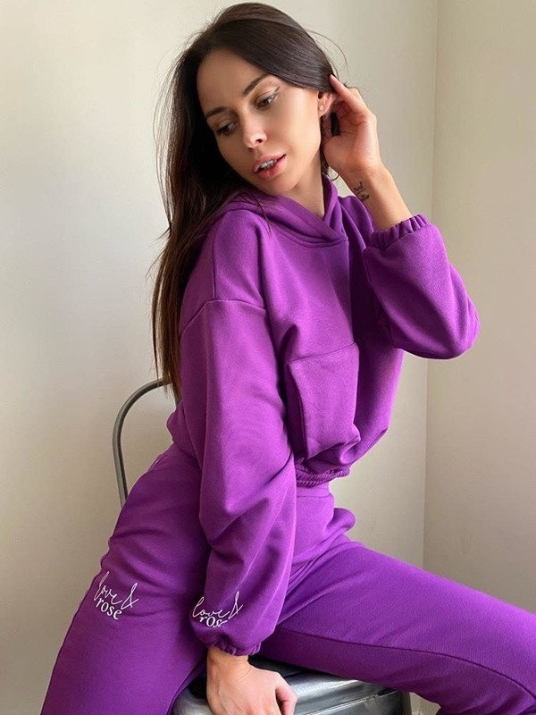 Naomi purple Sweatpants