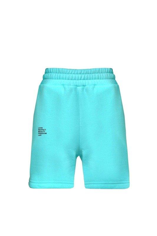 Nelly Aqua shorts